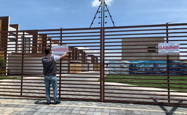 Clausuran tres construcciones y una mina en el Valle de Toluca