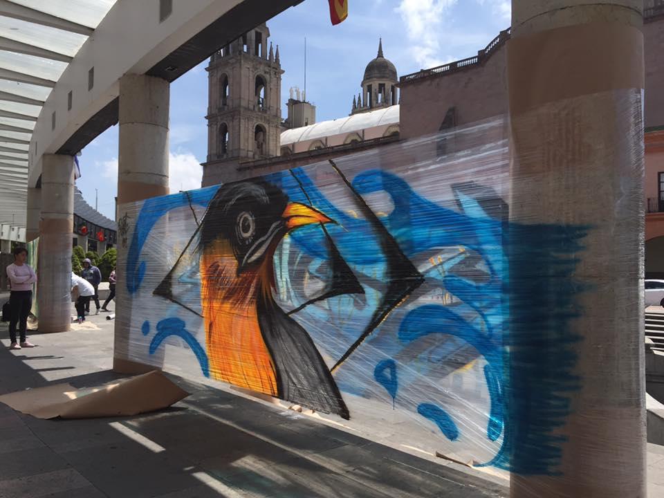 Impulsan el graffiti como obra de arte en Toluca