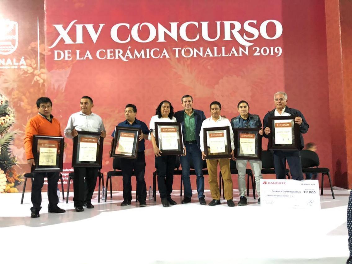 Destacan artesanos de Metepec en Concurso de Cerámica Tonallan 2019