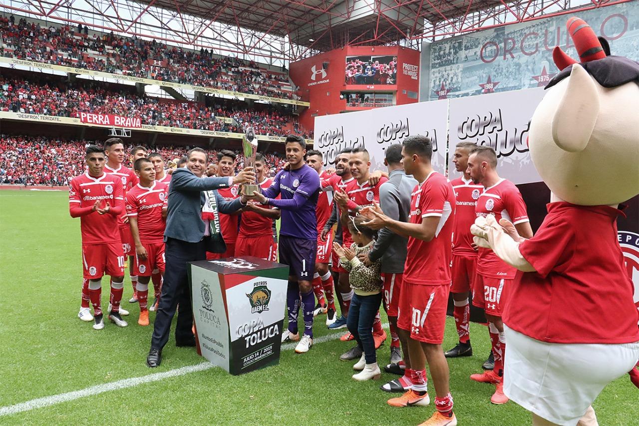Más de 30 mil personas vivieron la emoción del fútbol con la Copa Toluca