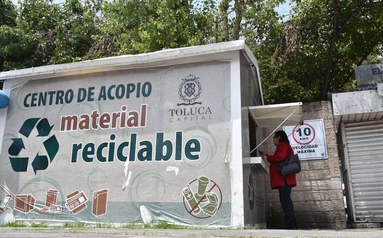 Toluca canjea residuos reciclables por productos de la canasta básica