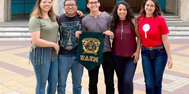 Estudiantes de UAEMéx representan a México en Rusia