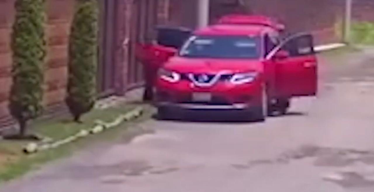 #Video: Graban casa cuando es vaciada por ladrones, en Zinacantepec