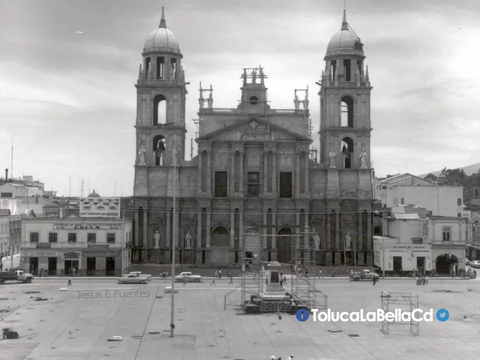 Un día como hoy pero de 1867 se colocaba la primer piedra de la Catedral de Toluca