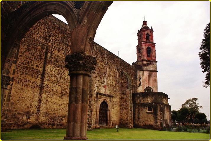 El Convento de San Luis Obispo en Tlalmanalco, EdoMéx