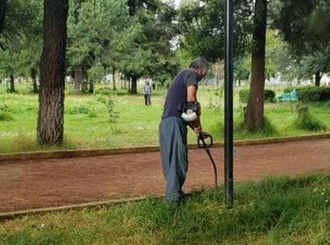 Vecinos cuidan parque La Pilita