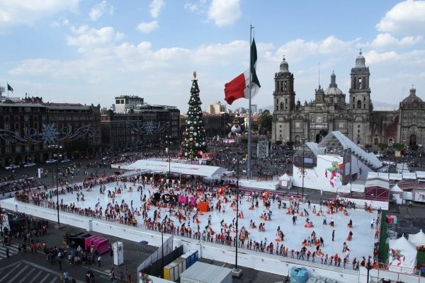 Anuncian fecha para pista de patinaje en CDMX