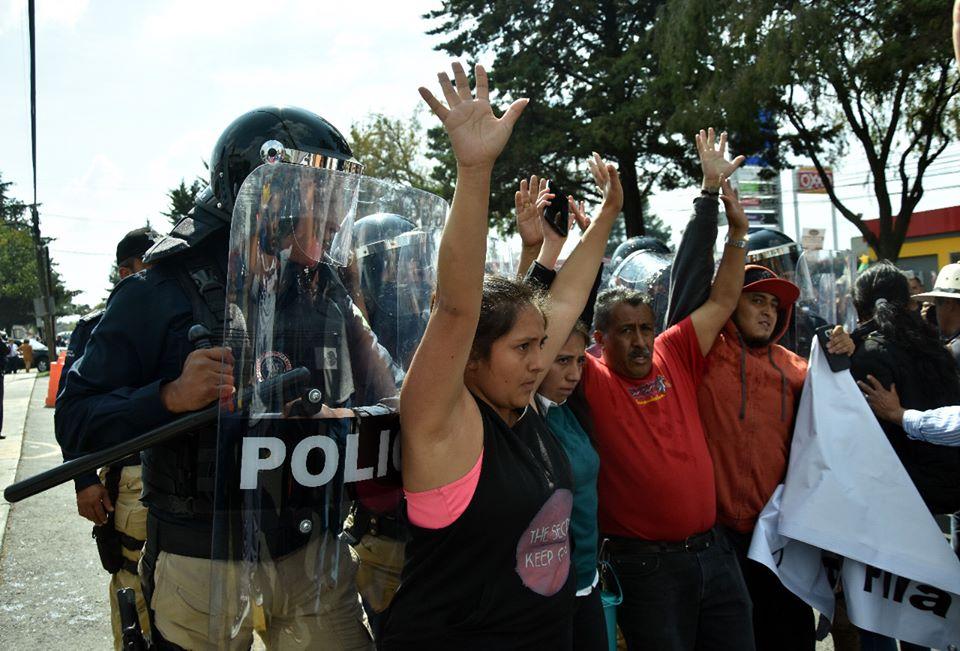 "Liberan integrantes de ""Abracemos la pila"""