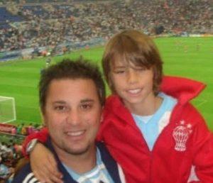 Mohamed y su hijo Faryd