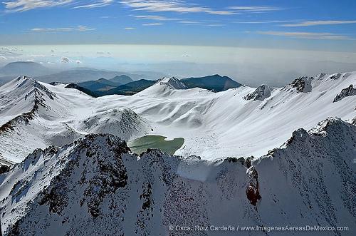 Servicio Meteorológico Nacional pronostica caída de nieve en el Nevado de Toluca