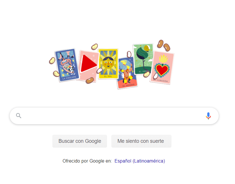 doodle google lotería