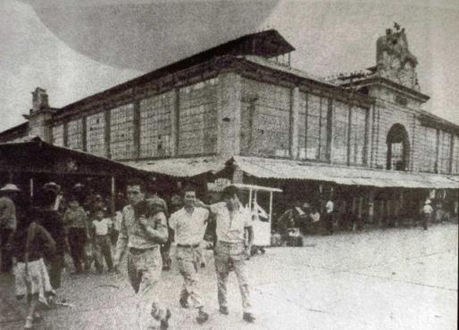 Hoy Jardín Botánico Cosmovitral, antes Mercado 16 de Septiembre de Toluca