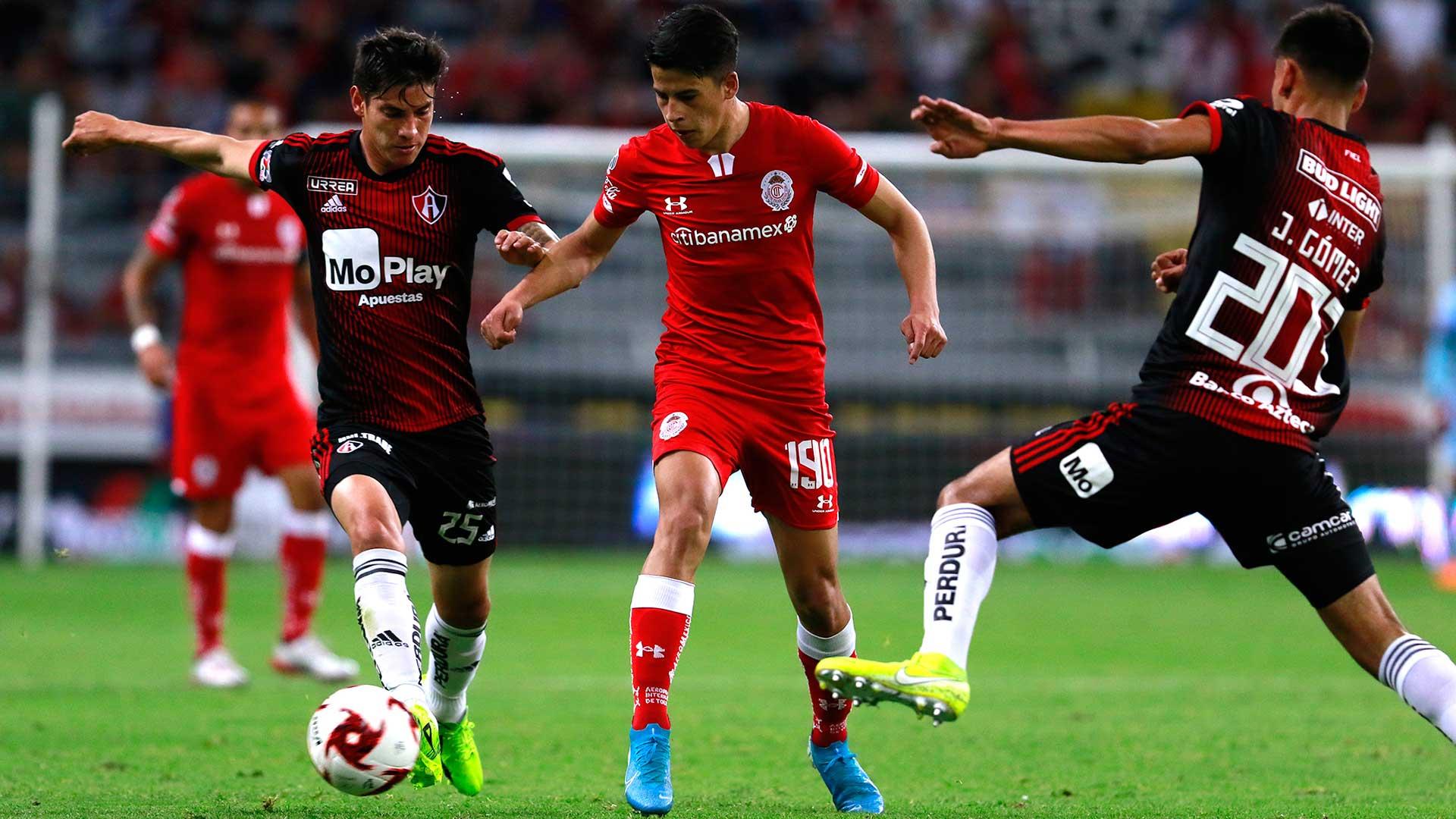 Toluca FC vs Atlas Cuartos de Final de la Copa MX