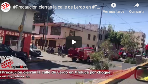 Cierran Lerdo por incidente vial