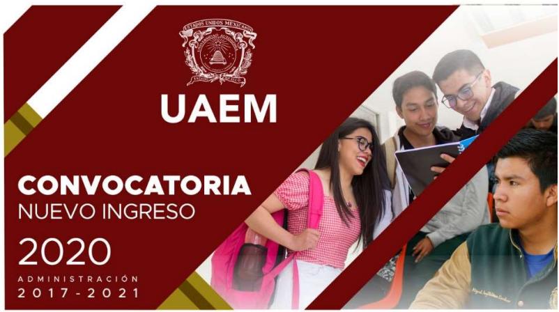 Convocatorias de nuevo ingreso de la Universidad Autónoma del Estado de México