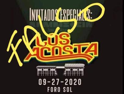 Los Acosta desmienten cartel para conciertos de Rammstein en México