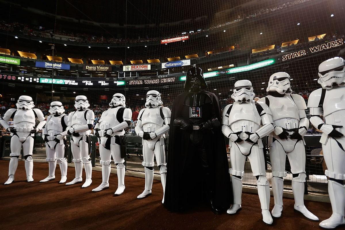 Desfile de la Guerra de las Galaxias en la CDMX