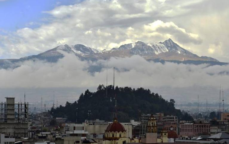 hasta -6° en la zona del Nevado de Toluca