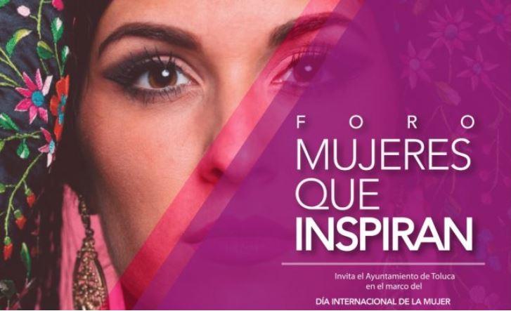 Foro Mujeres que Inspiran en el Teatro Morelos