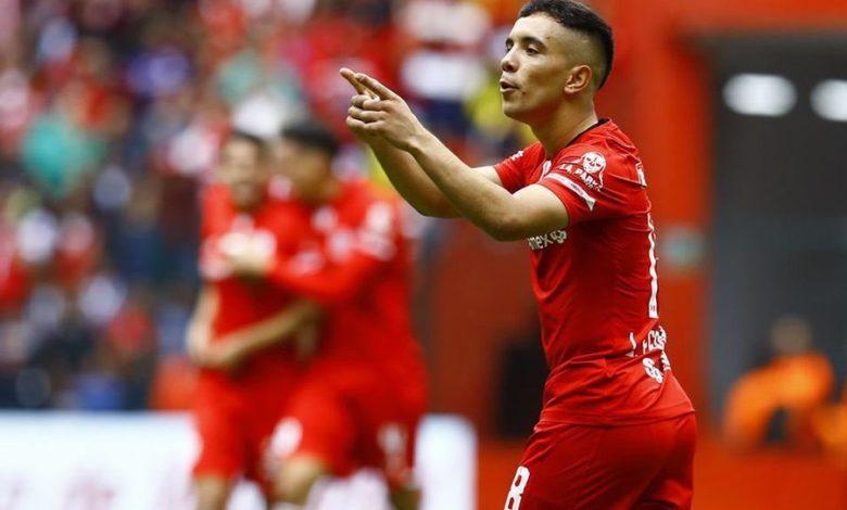 Leo fernandez futbol Toluca FC