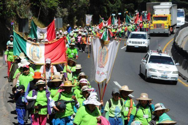 Peregrinación de la Diocesis de Toluca al Tepeyac