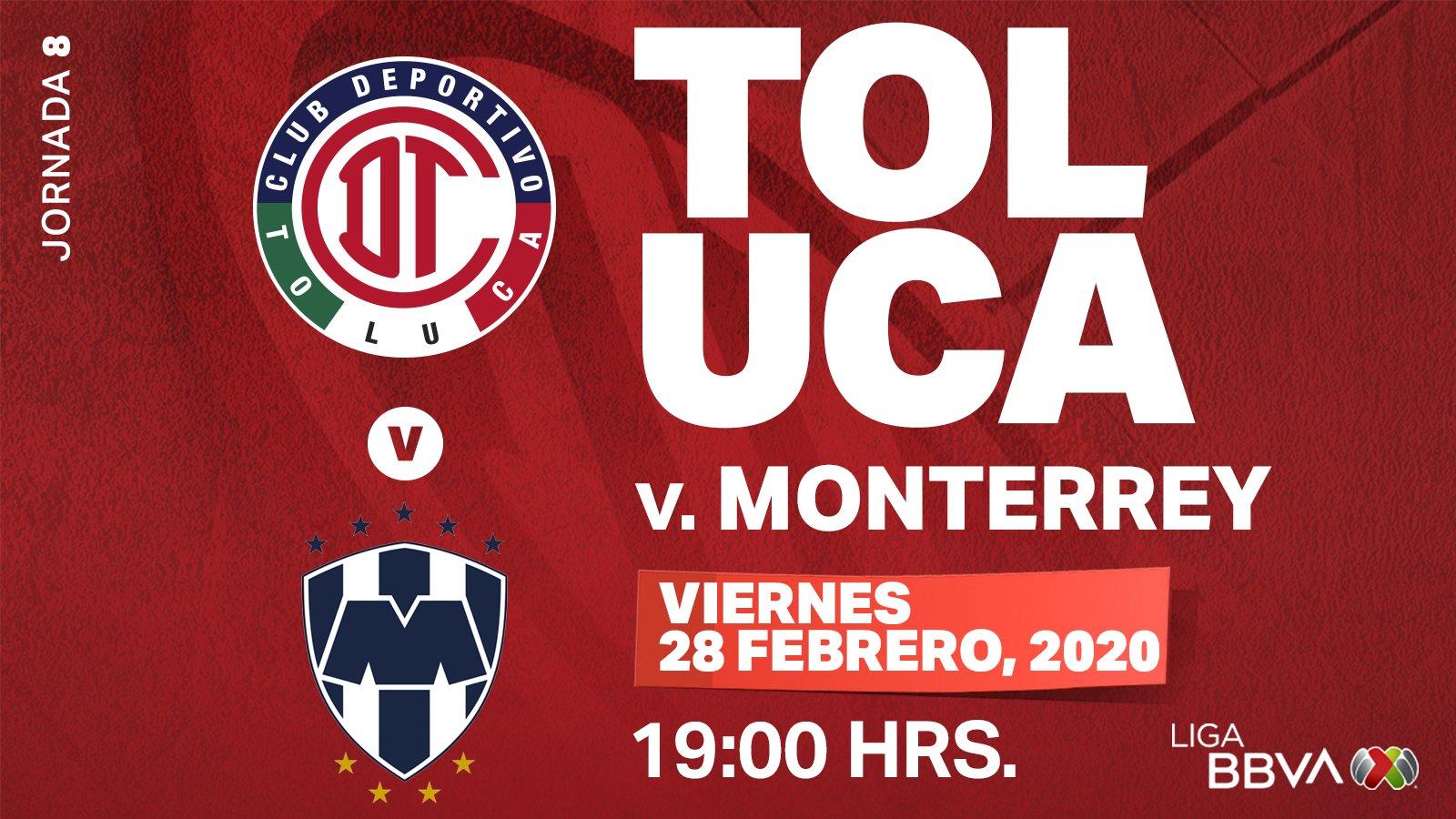 Toluca FC vs Monterrey cambia de horario