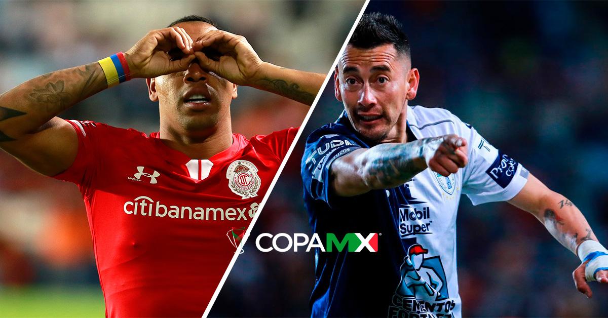 Toluca vs Pachuca - Copa MX: Horario, canal y transmisión online