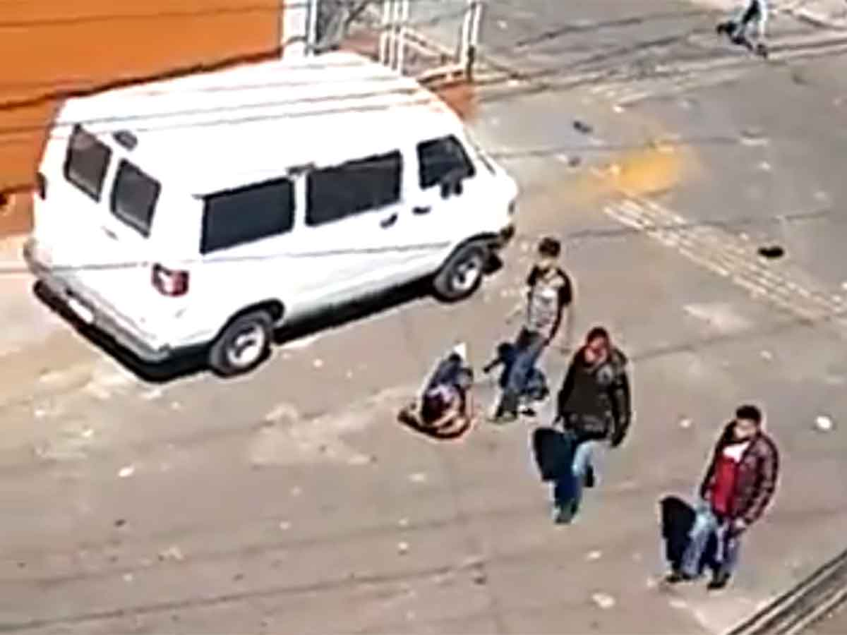 VIDEO!! Tiroteo en Ecatepec deja dos heridos
