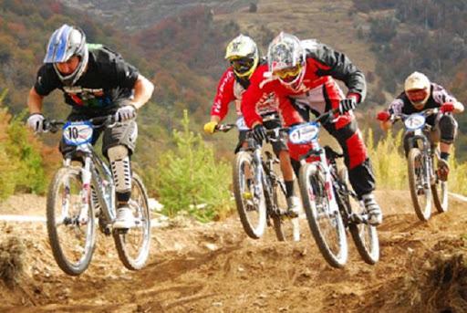 """Competencia de ciclismo de montaña """"Marathon Bike Mexiquense 2020"""" en Toluca"""
