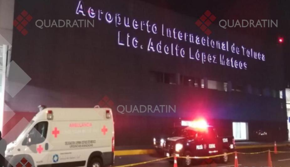 hombre muere acuchillado en aeropuerto internacional de toluca