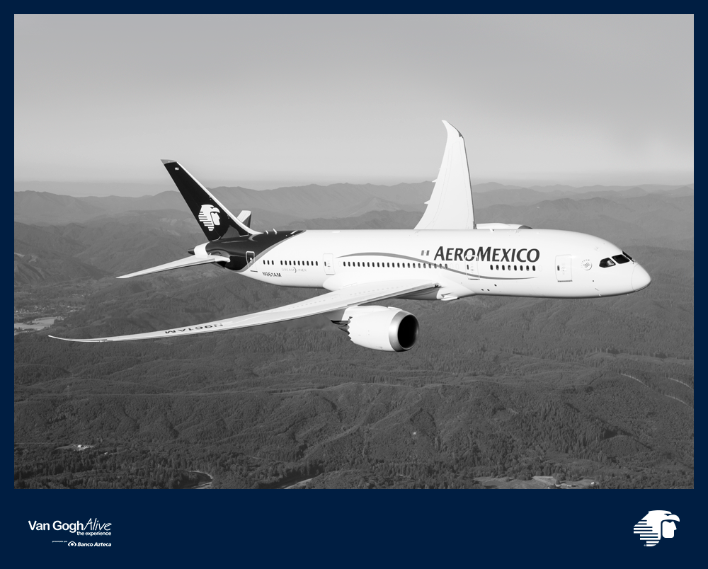 Aeroméxico suspende vuelos a América, Asia y Europa por COVID-19