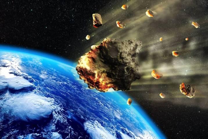 Asteroide chocaria con la tierra en el mes de abril