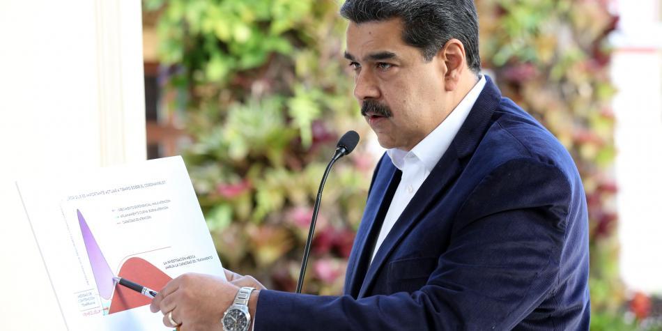 EUA ofrece 15 millones de dolares por capturar a Nicolás Maduro