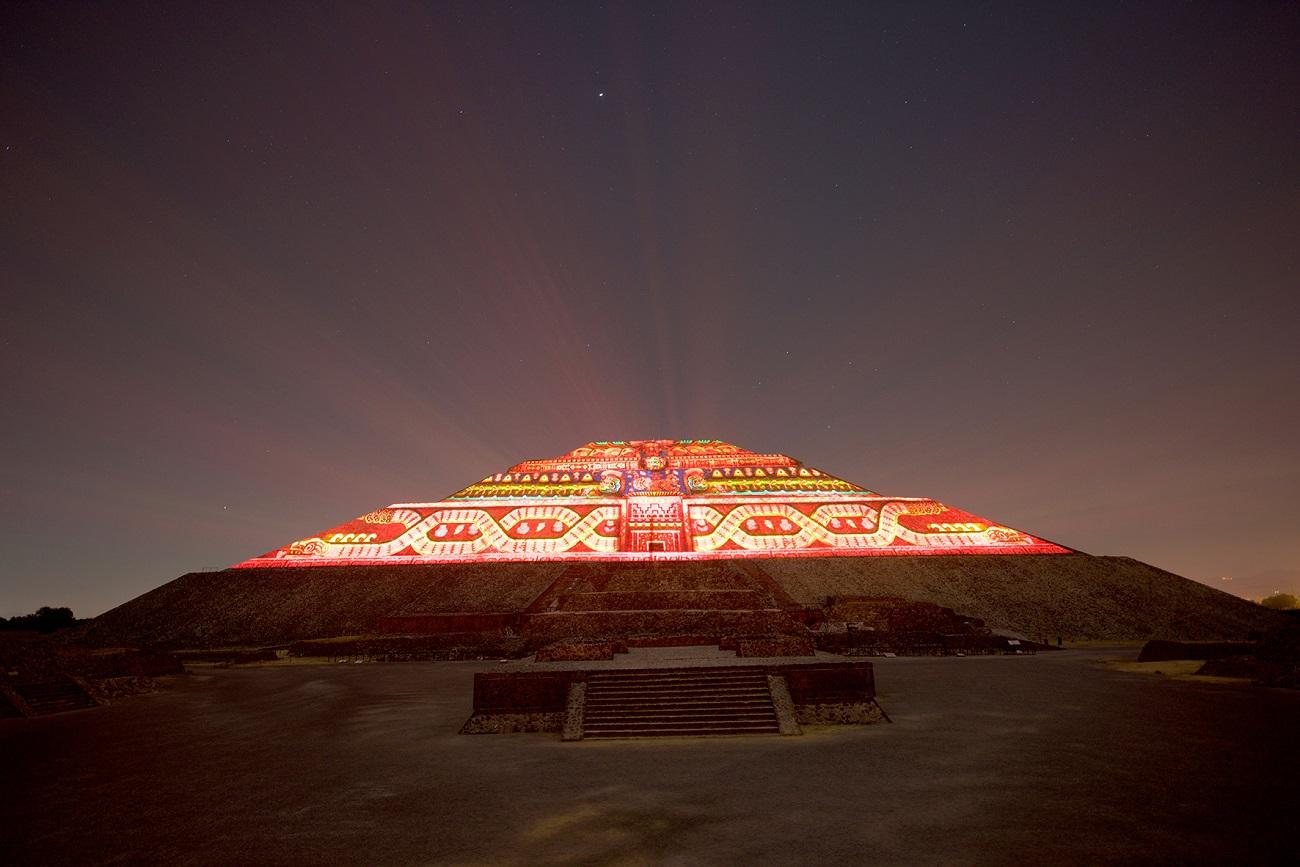 Se suspende Experiencia Nocturna en Teotihuacán por COVID-19