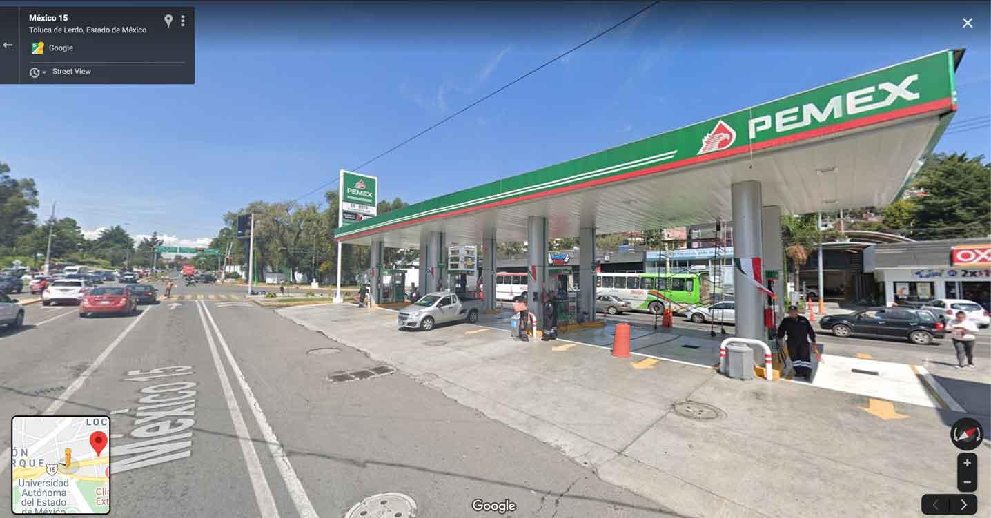 Precios gasolina hoy en Toluca y Metepec
