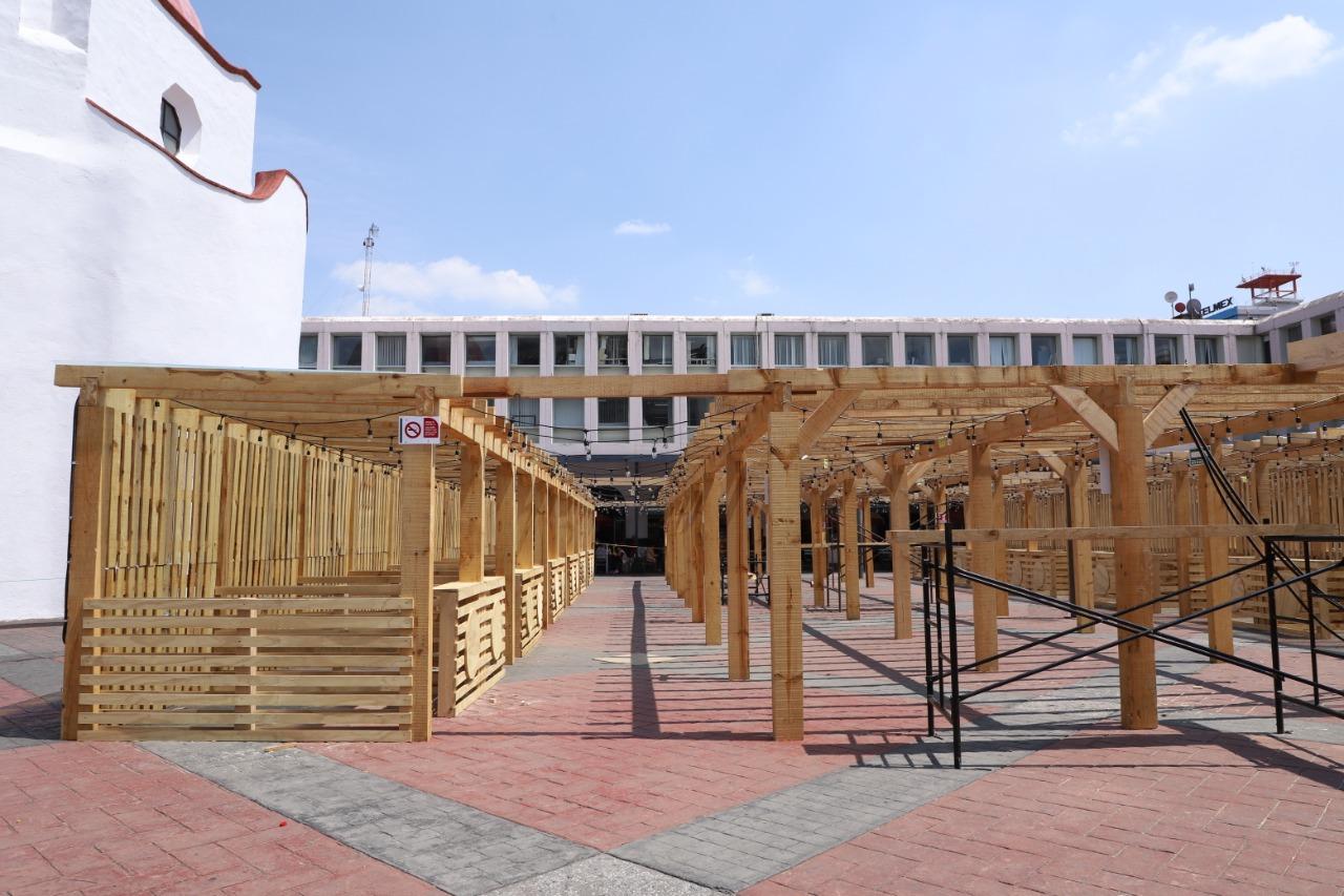 Inauguraran Pabellon Gastronomico en Toluca