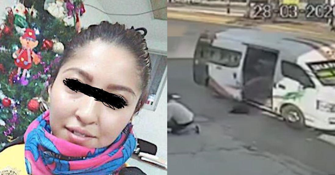 (VIDEO) Joven se lanza de vehículo para evitar asalto en el Edomex