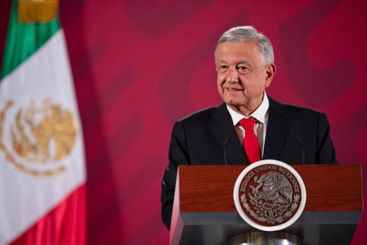 López Obrador no se dio cuenta que el lunes era el paro feminista