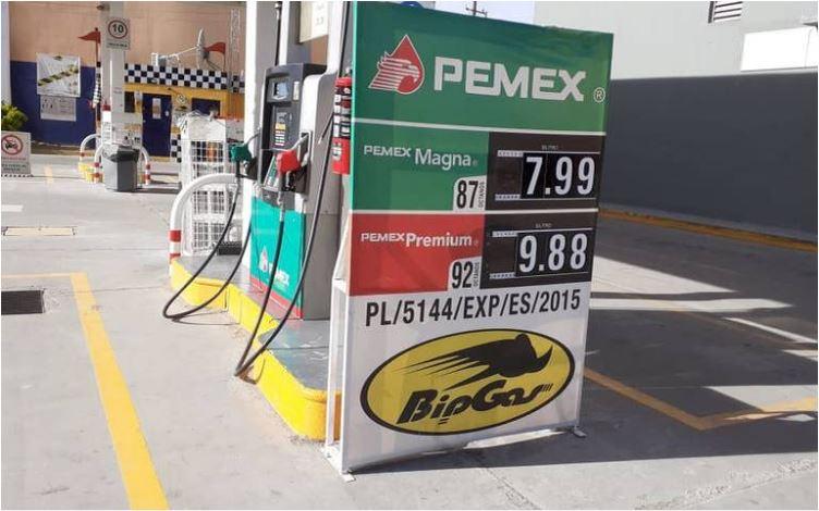 La gasolina más barata de todo México