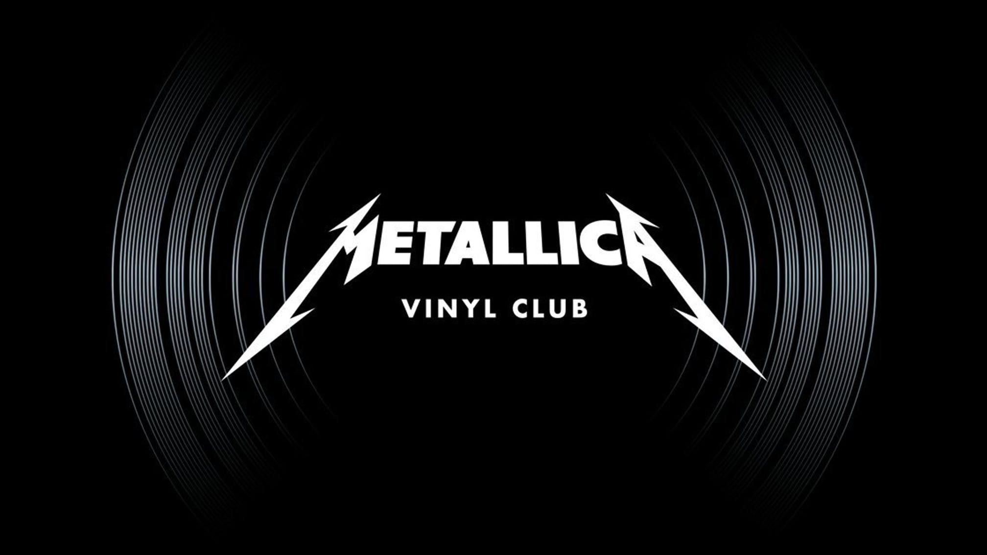 Metallica crea Club de Vinilo para todos sus fans