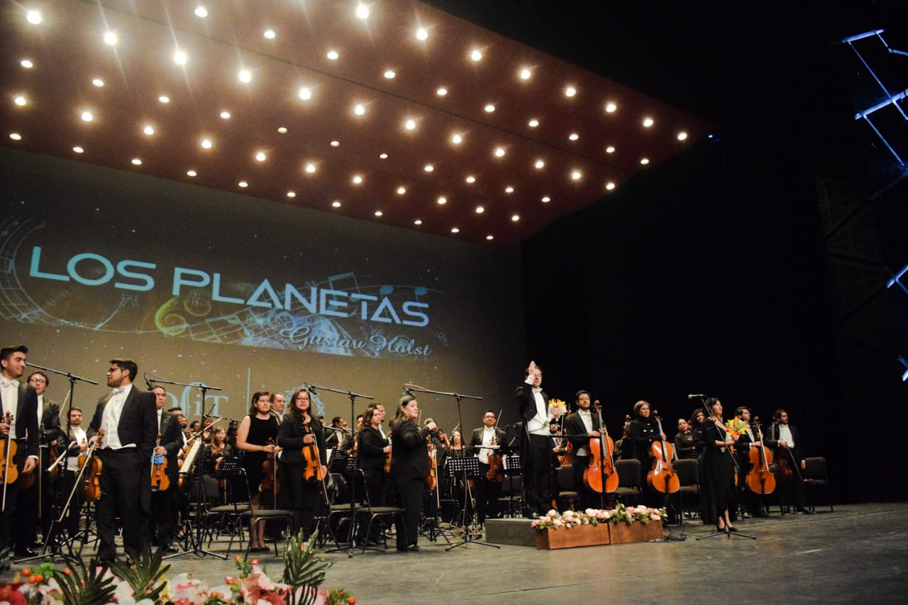 Orquesta Filarmónica de Toluca conciertos Marzo - Abril