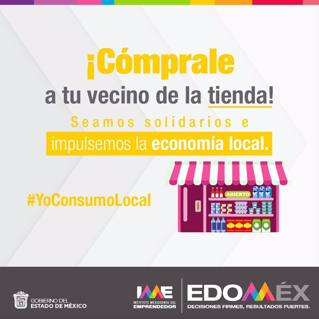 #YoConsumoLocal ¡Cómprale a tu vecino de la tienda!