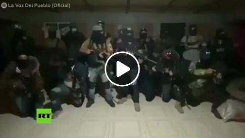(Video) Continúan amenazas entre cárteles del sur del EdoMéx
