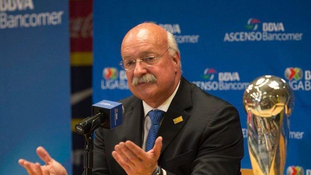 Enrique Bonilla, presidente de la Liga MX da positivo por Covid-19