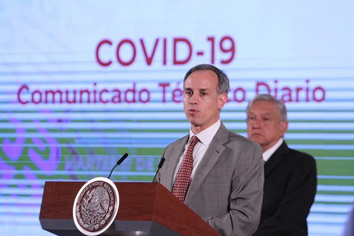 Epidemia de Covid-19 en México puede durar hasta 12 semanas