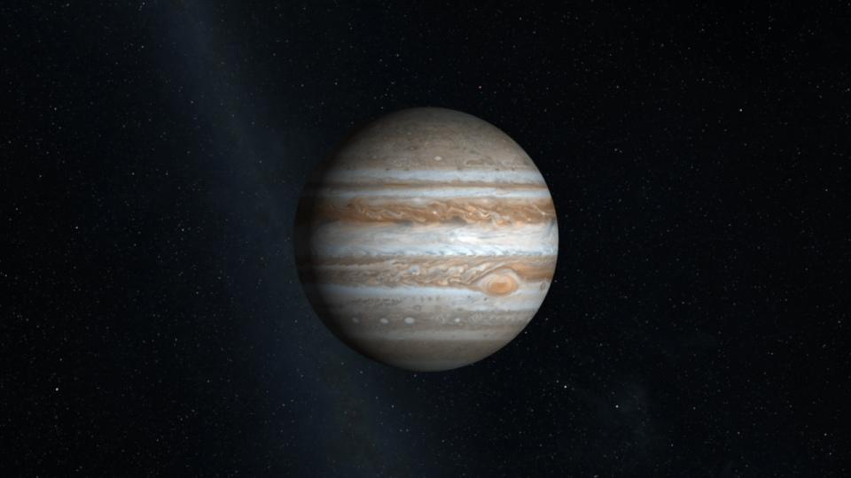 NASA comparte imagen de alta resolución de Júpiter