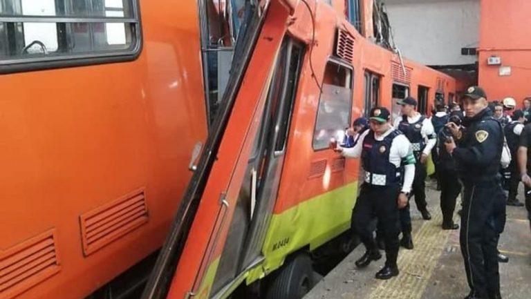 videos tras el choque en el metro Tacubaya