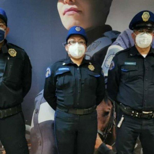 """""""Contagiarnos no importa"""" dicen policías que salvaron de suicidarse a enfermo de Covid."""