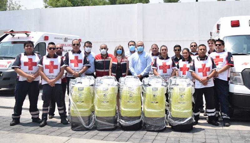 Entrega Koblenz donativo a Cruz Roja Estado de México