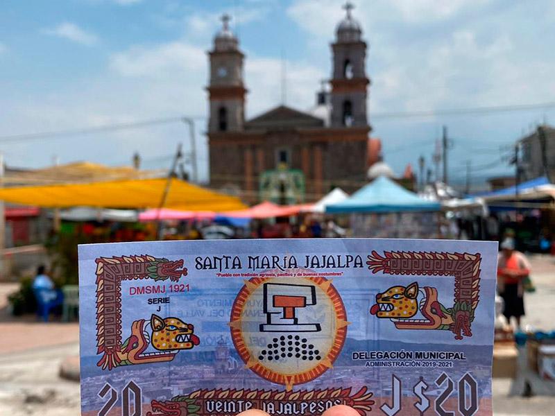 Localidad de Tenango del Valle crea su propia moneda para enfrentar al Coronavirus